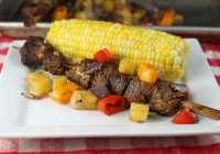 Easy Grilled Balsamic Pork Skewers Recipe ~ MissintheKitchen