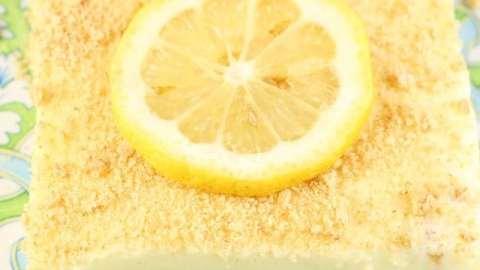 Lemon Icebox Cheesecake Recipe ~ Perfect no bake summer dessert ~ From MissintheKitchen.com