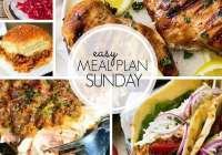 Easy Meal Plan 105 ~ MissintheKitchen.com