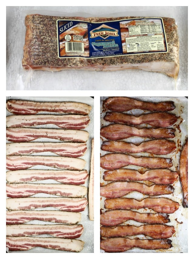Petit Jean Meats Pepper Bacon ~ MissintheKitchen.com