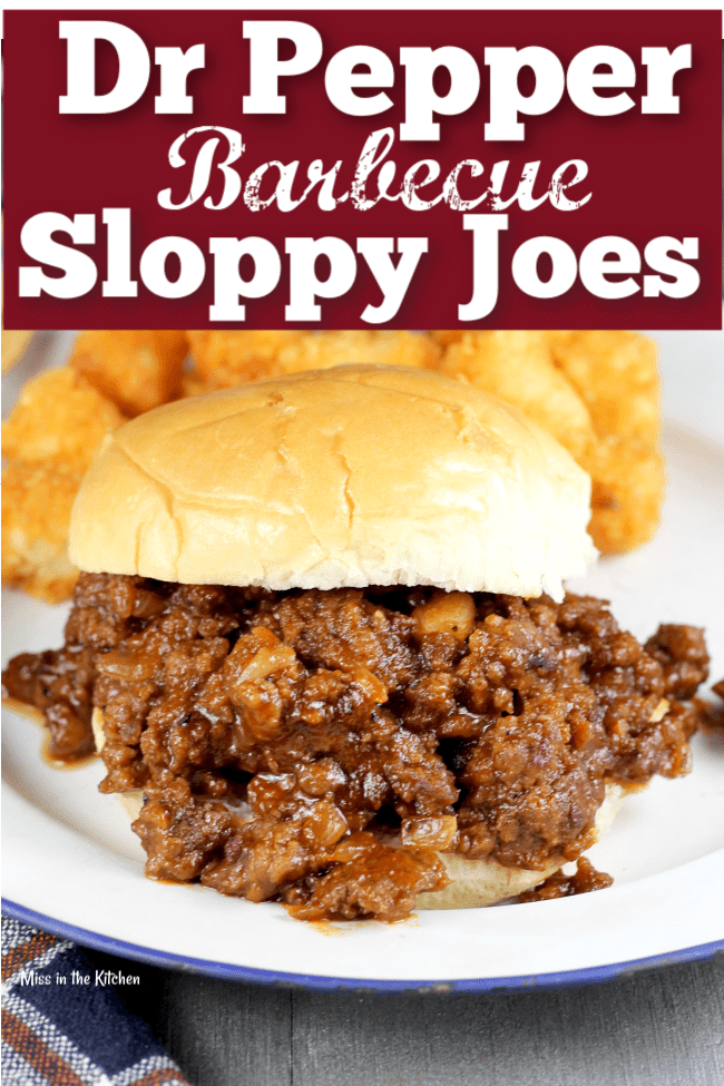 How to Make Dr Pepper Barbecue Sloppy Joes