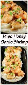 Miso Honey Garlic Shrimp Recipe ~ Simple dinner that is perfect for entertaining and easy enough for any night of the week. #AD #HemisFares @Kroger
