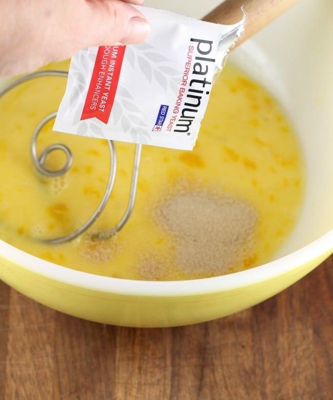 Platinum Red Star Yeast ~ Orange Cardamom Braid Recipe ~ MissintheKitchen.com #ad @redstaryeast #bread