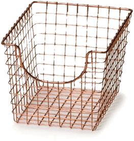 Wire Storage Baskets ~ Wayfair