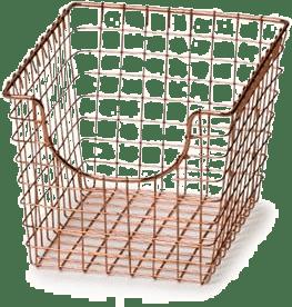 Wire Storage Baskets ~ Wayfair