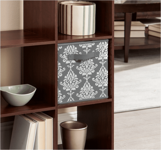 Damask Fabric Cube ~ Wayfair