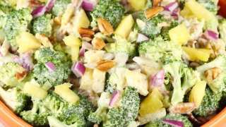 Broccoli Pineapple Salad
