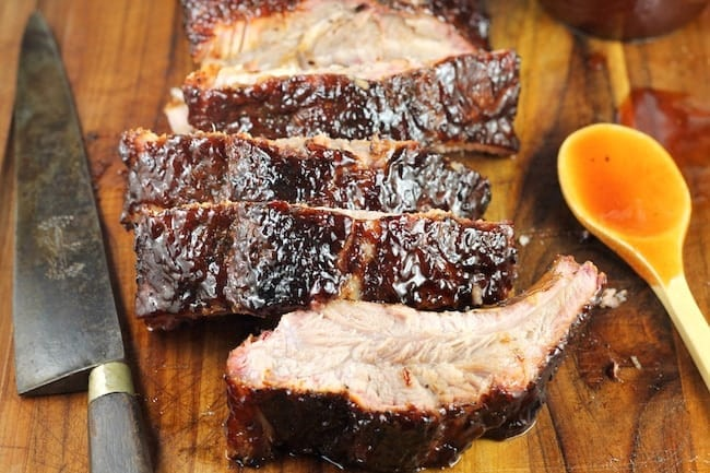 Easy Dr Pepper Barbecue Ribs