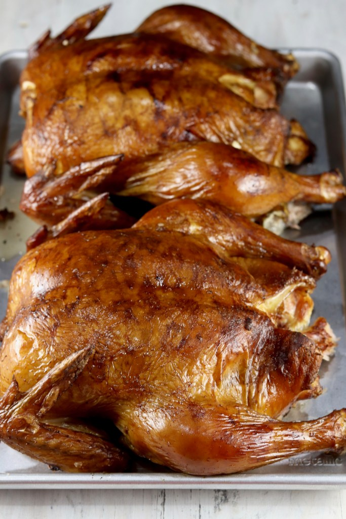 Smoked Chickens