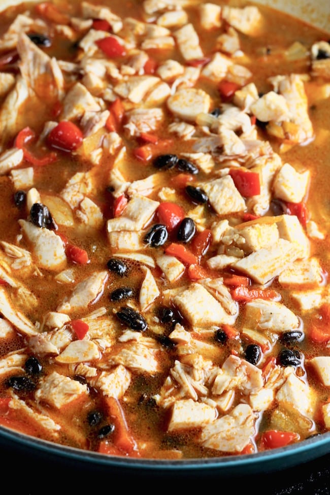 How to Make Smoked Chicken Chili with Black Beans
