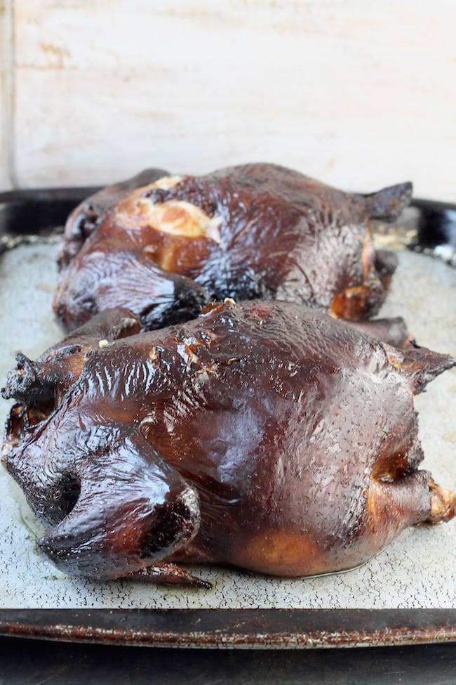 Smoked Whole Chickens