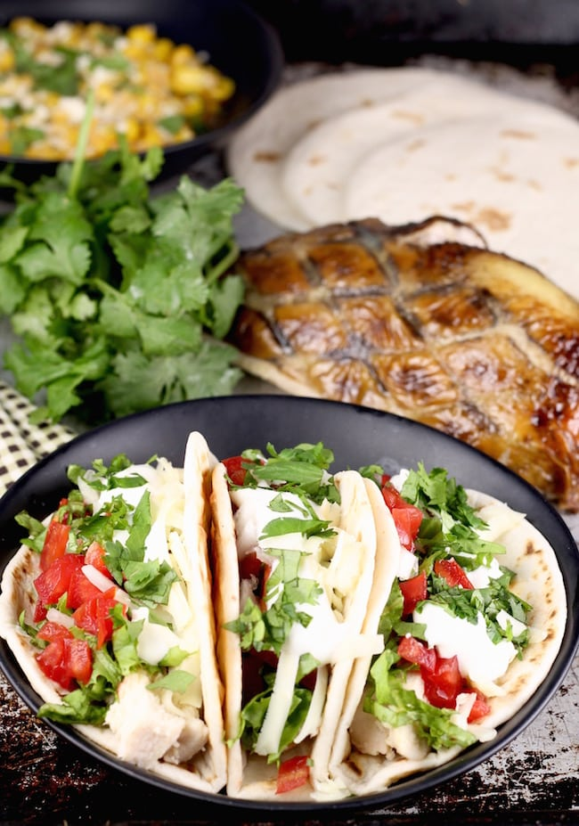 How to use leftover smoked chicken ~ Smoked Chicken Tacos