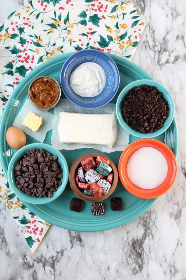 Ingredients for Mini Dove Cheesecakes