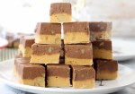 Old Fashioned Fudge with chocolate, butterscotch and chopped walnutshttps://www.missinthekitchen.com/white-chocolate-caramel-macadamia-nut-fudge/