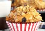 Breakfast Muffins with dates, raisins and pecans