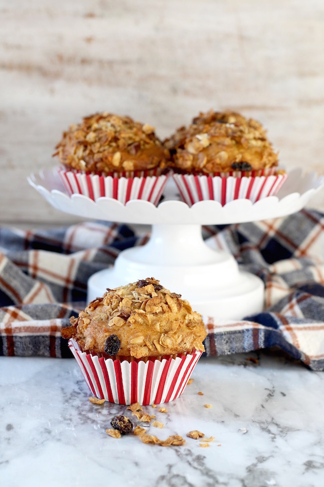 Easy Breakfast Muffins recipe with Great Grains Cereal