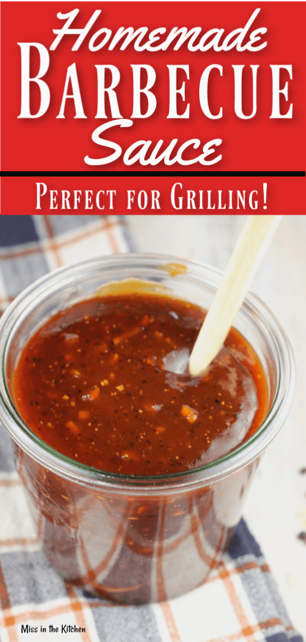 How to make homemade barbecue sauce