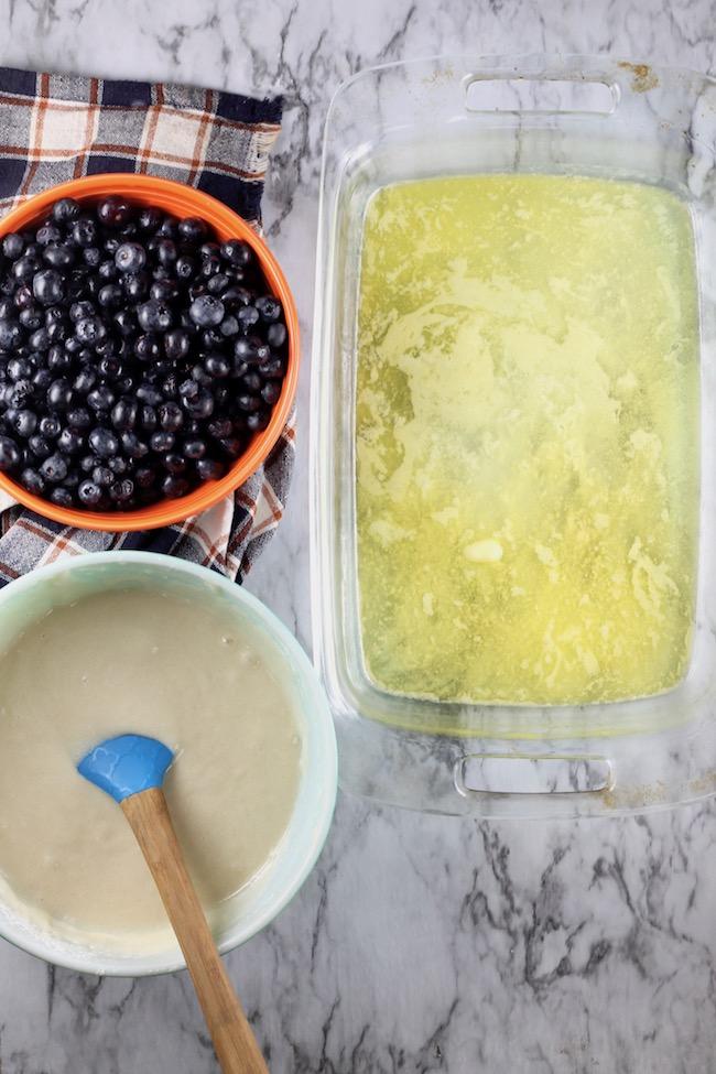 How to make Blueberry Cobbler