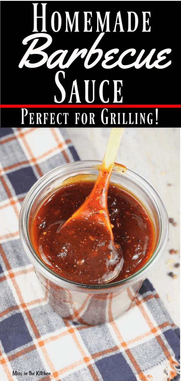 Homemade Barbecue Sauce made in 30 minutes!