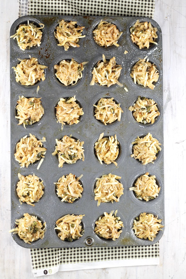 How to make hash browns in the oven