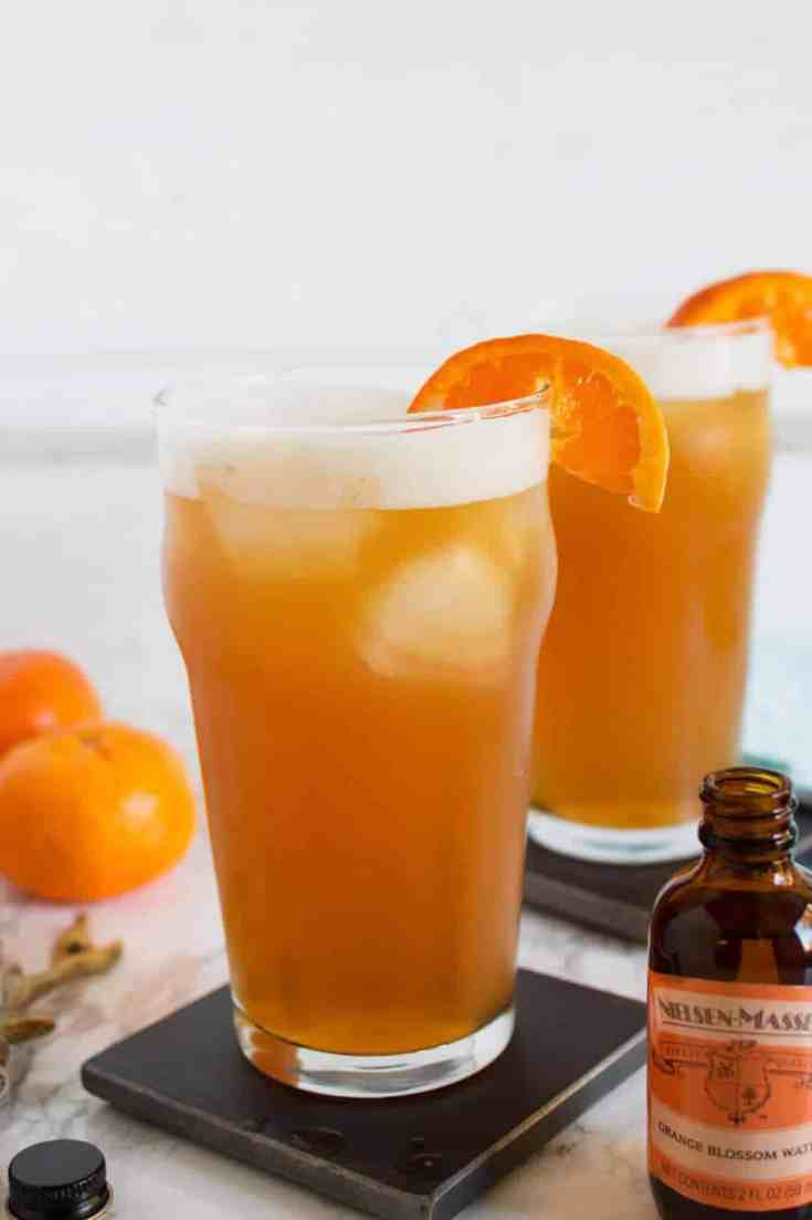 Orange Bourbon Beer Cocktail