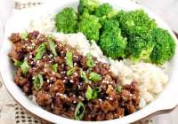 30 Minute Easy Korean Beef and Broccoli
