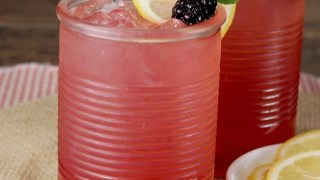 Blackberry Lemonade Moscato Punch