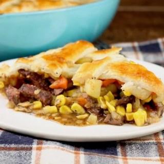 Venison Steak Pot Pie