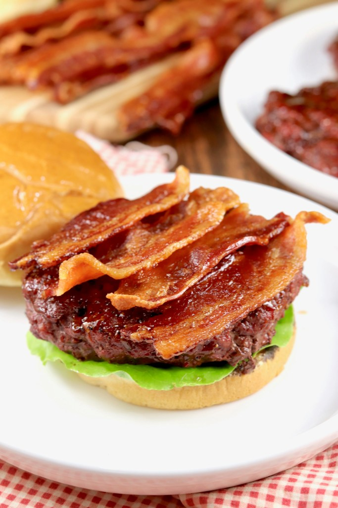 Stuffed Bacon Burger