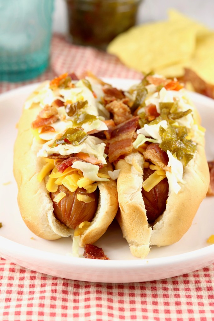 Loaded Slaw Dogs