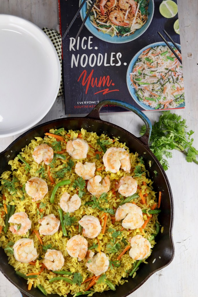 Shrimp Fried Rice from Rice. Noodles. Yum. Cookbook