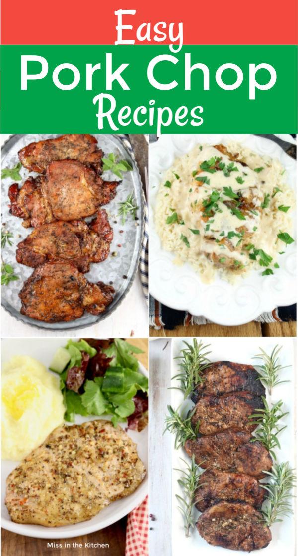 Easy Pork Chop Recipes