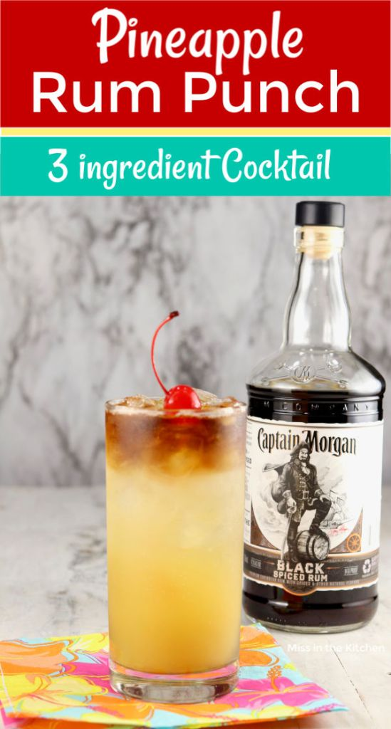 Black Rum Party Punch