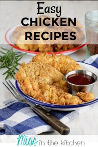 Easy Chicken Recipes eCookbook Cover