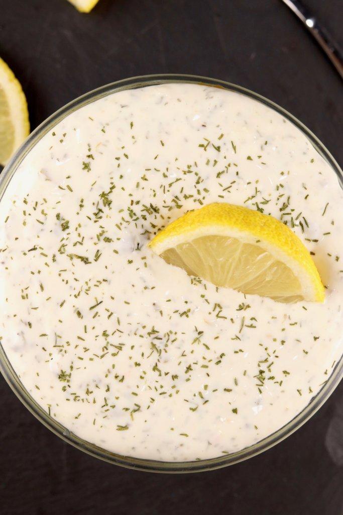 Tartar Sauce with dill and lemon