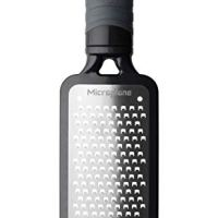 Microplane 44001 Home Series Coarse Cheese Grater - Black