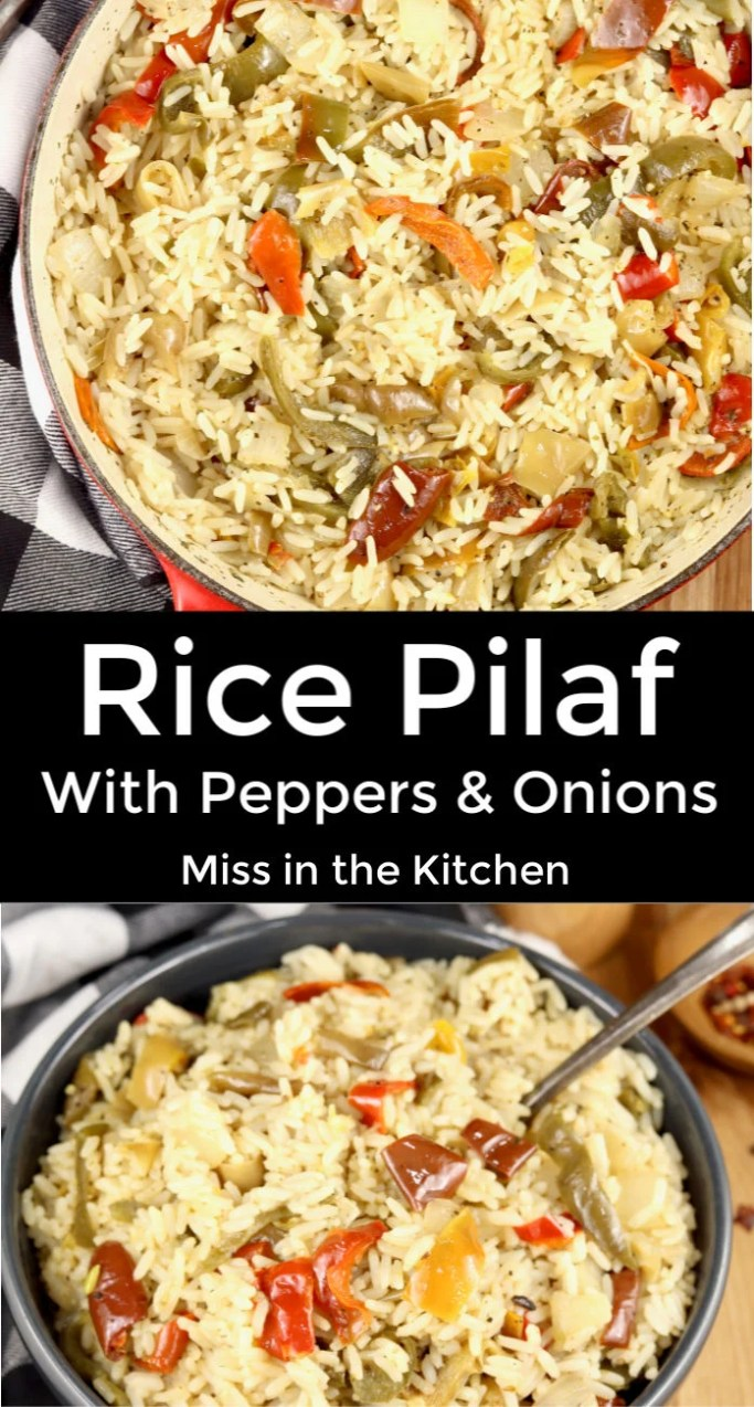 Rice PIlaf collage