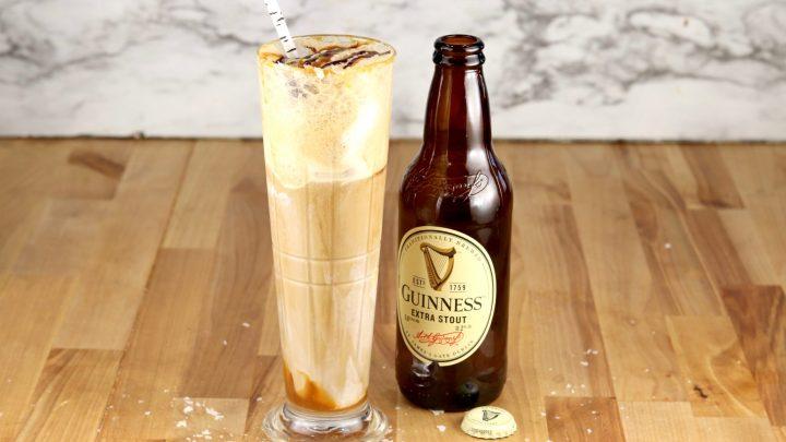 Salted Caramel Guinness Float