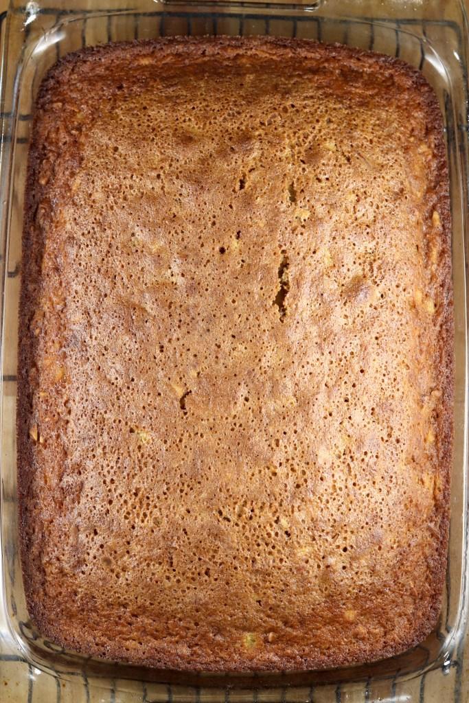 Baked Carrot Cake