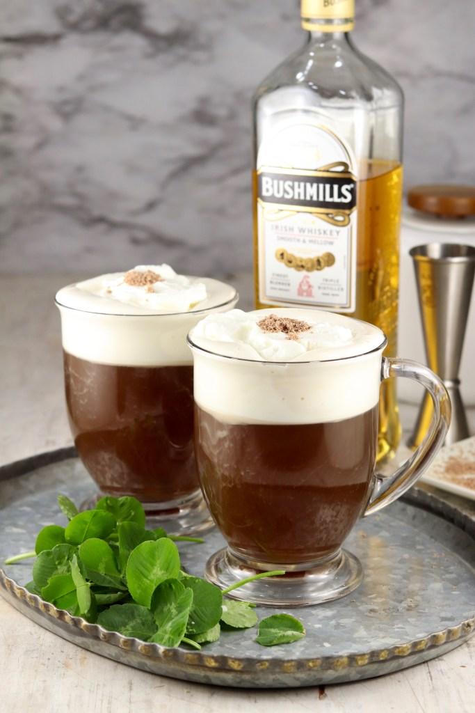Cocktail with Irish whiskey