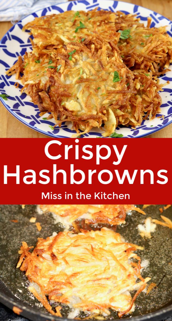 Crispy Hash Browns
