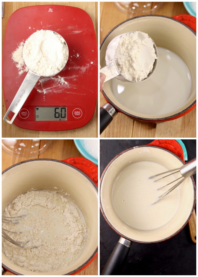 Making a Tangzhong for Milk Bread