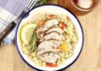Herb Butter Smoked Chicken