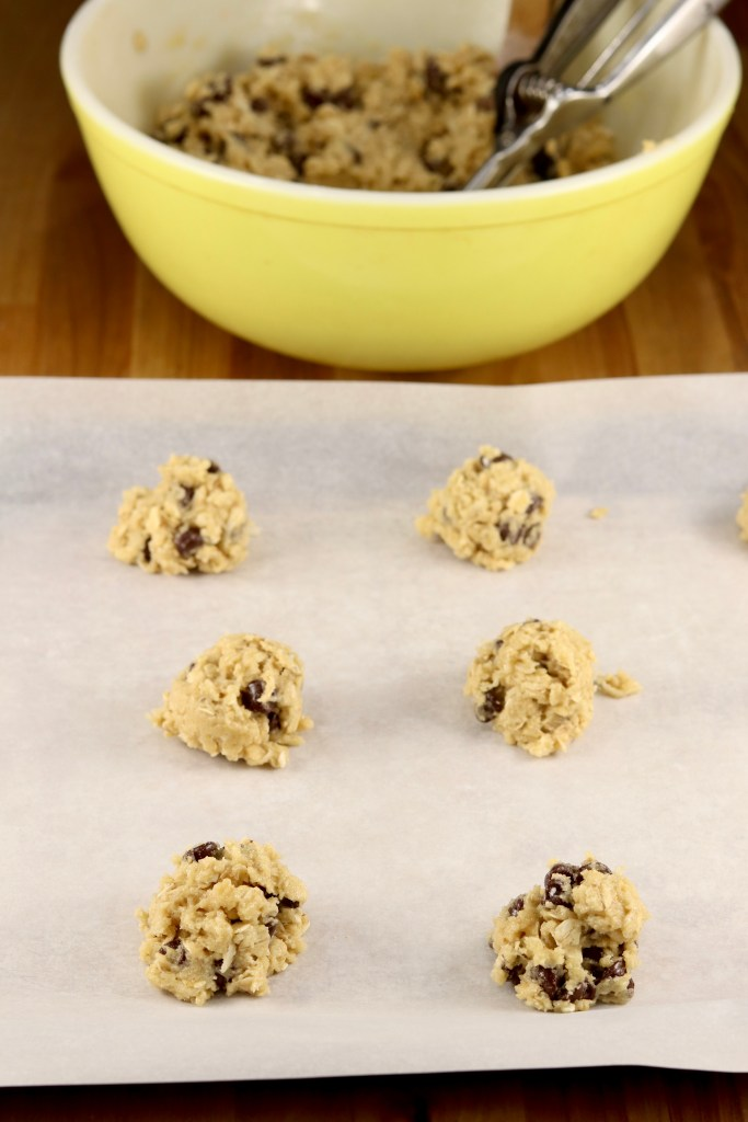 Cookie dough for dish pan cookies