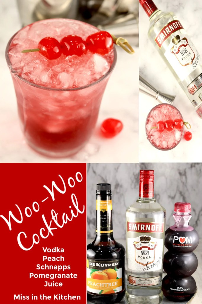 Woo Woo Cocktail Collage