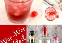 Woo Woo Cocktail Collage