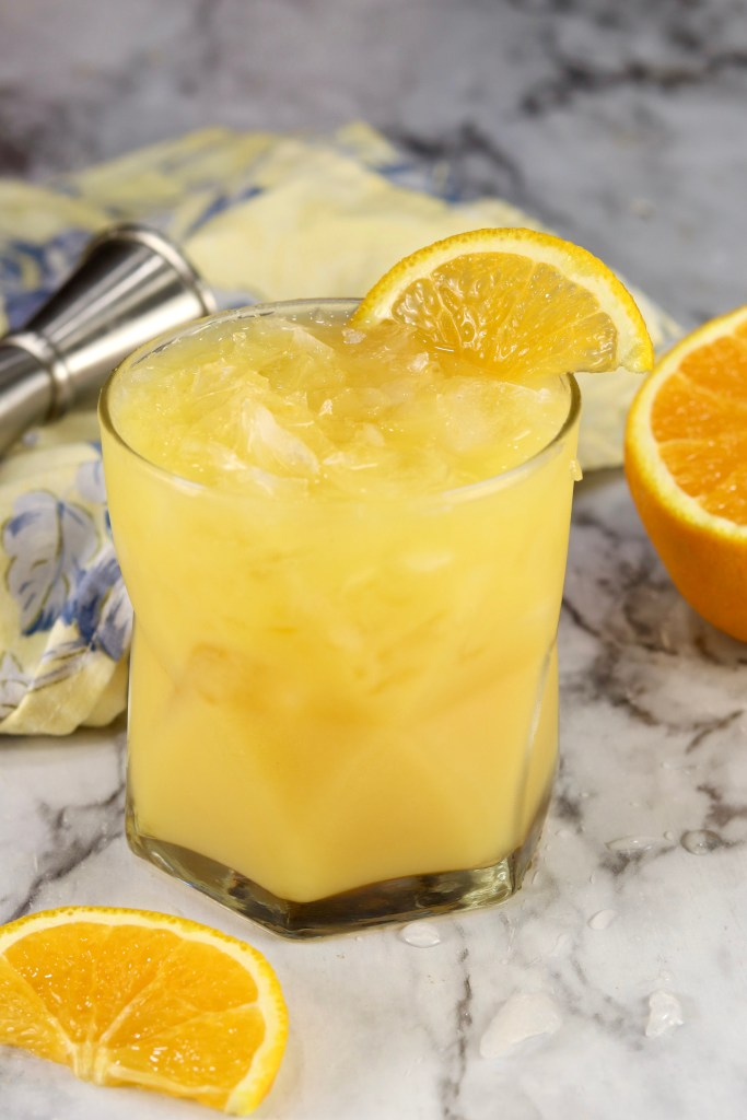 Orange and Gin Cocktail