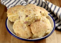 Ham and Cheese Biscuits