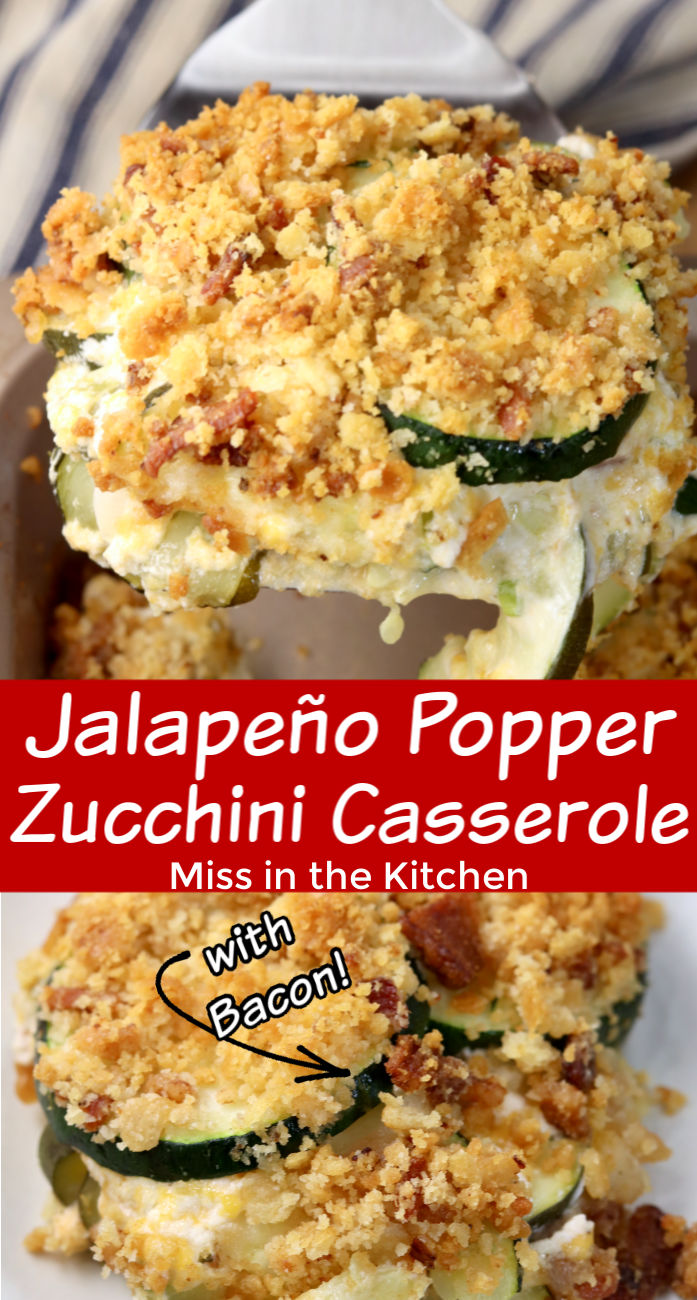 Jalapeno Popper Casserole collage