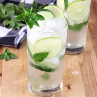 Cucumber Mojitos